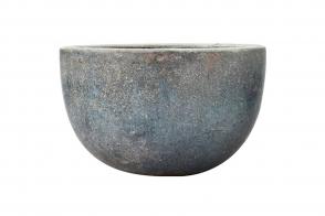 Bowl Planter, Blue/Green