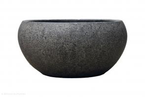 Bowl Planter Ball, Rock Grey