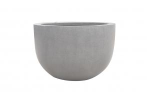Bowl Planter LO, Grey