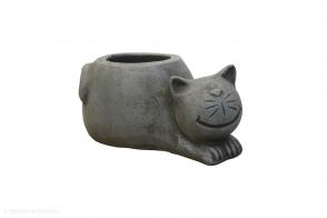 Cat pot, Grey