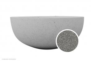 Bowl Planter CHAN, Textured Grey
